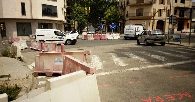 """Esta semana se inician por fin las obras en las rotondas de via Palma y de """"Ses Avingudes"""" de Manacor"""
