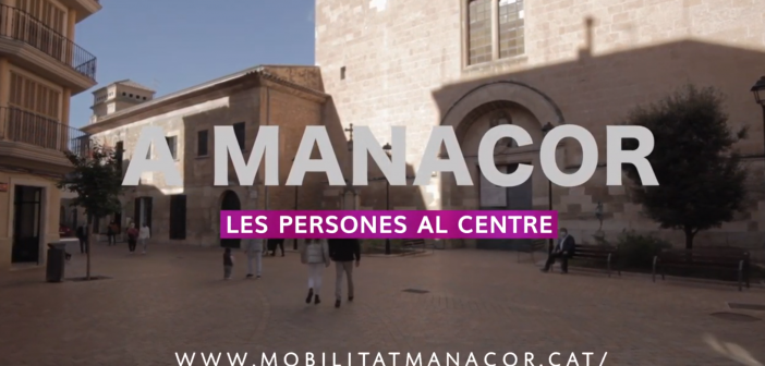 L'Ajuntament de Manacor promou el tancament del centre al tràfic rodat.